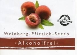 Weinbergs-Pfirsich-Secco - alkoholfrei - Bild vergrößern
