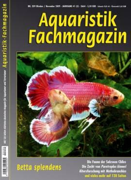 Aquaristik-Fachmagazin, Ausgabe 209 (Oktober/November 2009) - Bild vergrößern