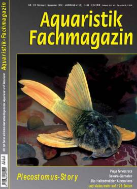 Aquaristik-Fachmagazin, Ausgabe 215 (Oktober/November 2010) - Bild vergrößern