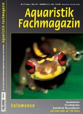 Aquaristik-Fachmagazin, Ausgabe 217 (Februar/März 2011) - Bild vergrößern