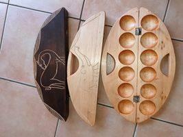 Oware Spiel -Kalaha - Mbau - Madji  (Köpfer) - Produktbild