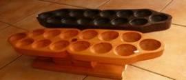 Oware Spiel -Kalaha - Mbau - Madji  ( Home version ) - Bild vergrößern