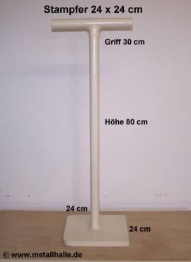 242 Betonstampfer 240 x 240 - 20 mm - Bild vergrößern