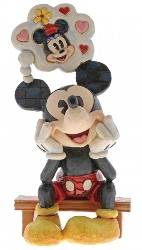 Mickey Mouse Thinking of You - Traditions Enesco Figurine