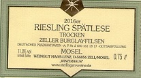 Zeller Burglay-Felsen Riesling - Spätlese - Nr.20