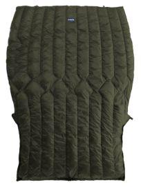 20°F Diamondback Zip Footbox - 185cm x 139cm - Dunkelgrün