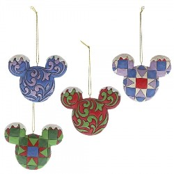 Mickey Mouse Ornament Set - Traditions Enesco Figurine