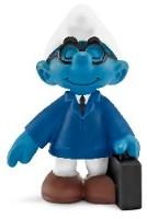Büroschlumpf Verkäufer Schlumpf - Schleich Figur