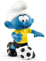 Fußball Schlumpf mit Ball - Schleich Figur