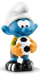 Fußball Schlumpf Torhüter - Schleich Figur