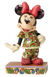 Minnie Mouse Comfort and Joy - Traditions Enesco Figurine