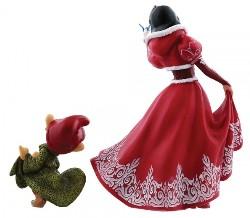 Christmas Snow White & Dopey - Showcase Enesco Figurine