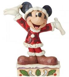 Mickey Mouse Tis a Splendid Season  - Traditions Enesco Figurine