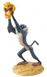 Rafiki mit Simba - Enchanting Enesco Figurine