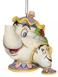 Madame Pottine Tassilo Weihnachts Ornament - Traditions Enesco Figurine