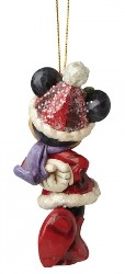 Minnie Mouse Weihnachts Ornament - Traditions Enesco Figurine
