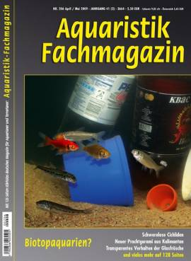 Aquaristik-Fachmagazin, Ausgabe 206 (April/Mai 2009) - Bild vergrößern
