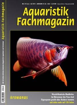 Aquaristik-Fachmagazin, Ausgabe 213 (Juni/Juli 2010) - Bild vergrößern