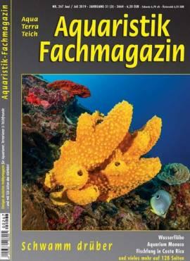 Aquaristik-Fachmagazin, Ausgabe 267 (Juni/Juli 2019) - Bild vergrößern