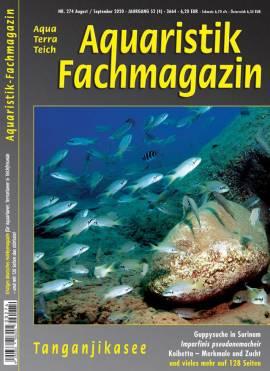 Aquaristik-Fachmagazin, Ausgabe 274 (Aug./Sept. 2020) - Bild vergrößern