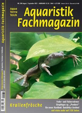 -Aquaristik-Fachmagazin- ab Ausgabe Nr. 280 (Aug./Sept. 21) - Bild vergrößern