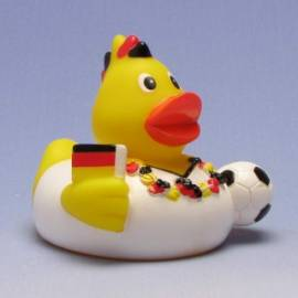 Paperella di gomma Fan tedesco - Bild vergrößern