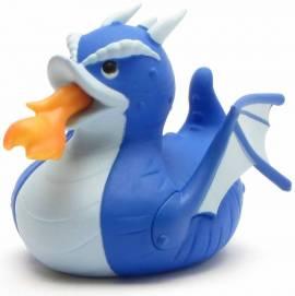 Anatra di gomma blu del drago - Bild vergrößern