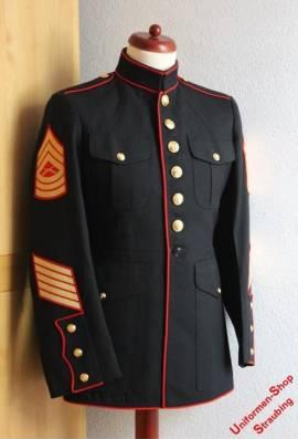 Pos. A01_0241: USMC Dress Blue Jacke US-Gr. 41R (gebraucht) - Bild vergrößern