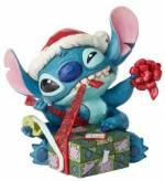 Stitch Bad Wrap - Traditions Enesco Figurine