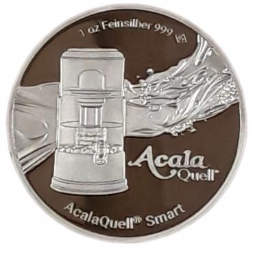 Silbermünze AcalaQuell® Smart