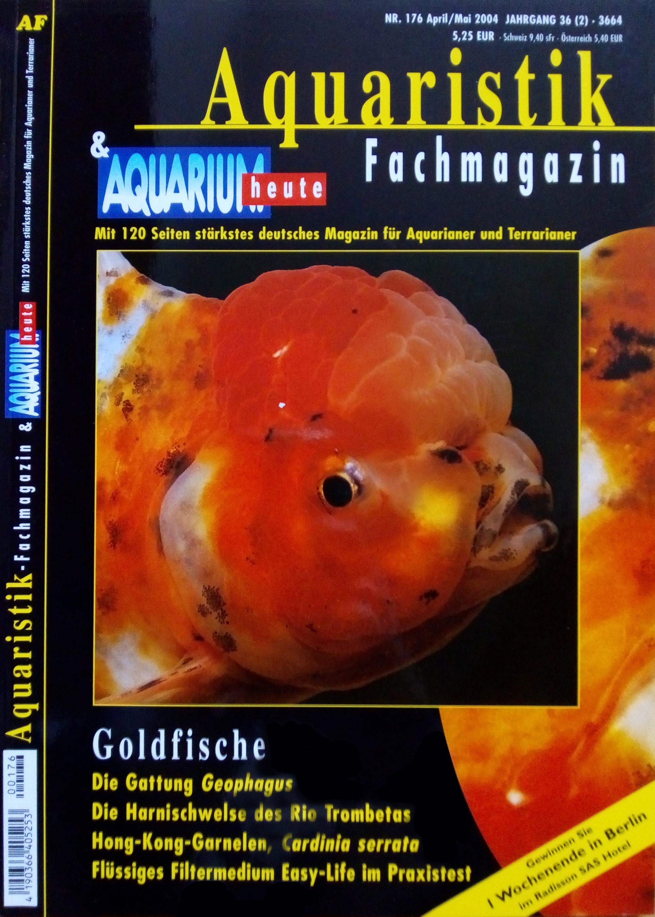 Aquaristik-Fachmagazin, Ausgabe 176