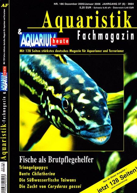 Aquaristik-Fachmagazin, Ausgabe 186