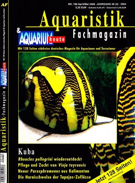 Aquaristik-Fachmagazin, Ausgabe 188