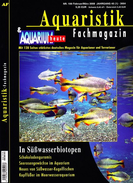 Aquaristik-Fachmagazin, Ausgabe 199 (Februar/März 2008)
