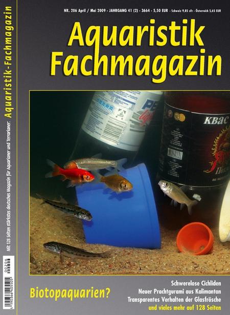 Aquaristik-Fachmagazin, Ausgabe 206 (April/Mai 2009)