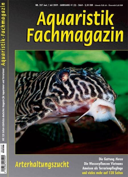 Aquaristik-Fachmagazin, Ausgabe 207 (Juni/Juli 2009)