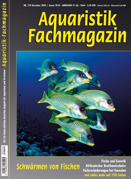 Aquaristik-Fachmagazin, Ausgabe 210 (Dezember 2009/Januar 2010)