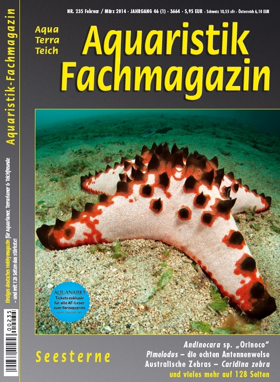Aquaristik-Fachmagazin, Ausgabe 235 (Feb./März 2014)