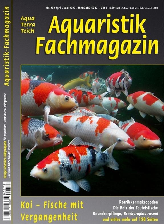 Aquaristik-Fachmagazin, Ausgabe 272 (April/Mai 2020)