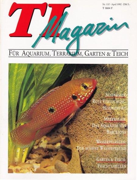 TI-Magazin/Aquaristik-Fachmagazin, Ausgabe 110