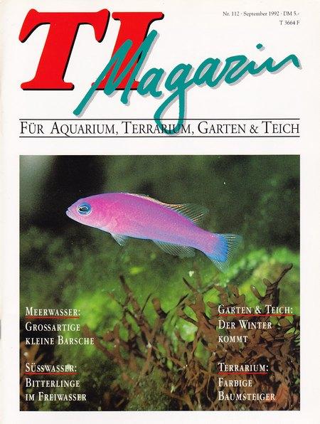TI-Magazin/Aquaristik-Fachmagazin, Ausgabe 112