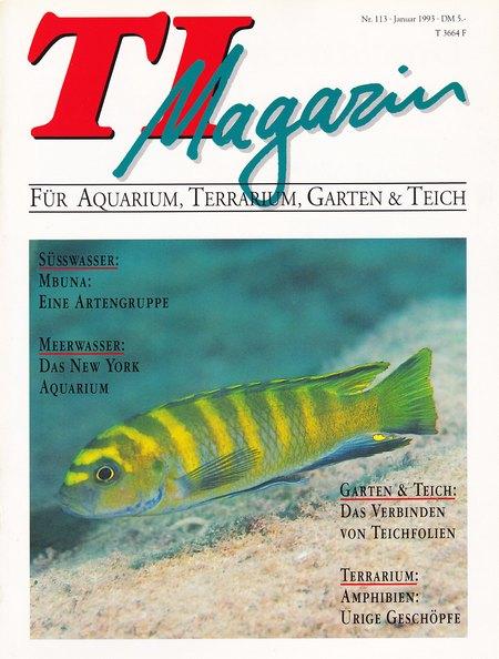 TI-Magazin/Aquaristik-Fachmagazin, Ausgabe 113
