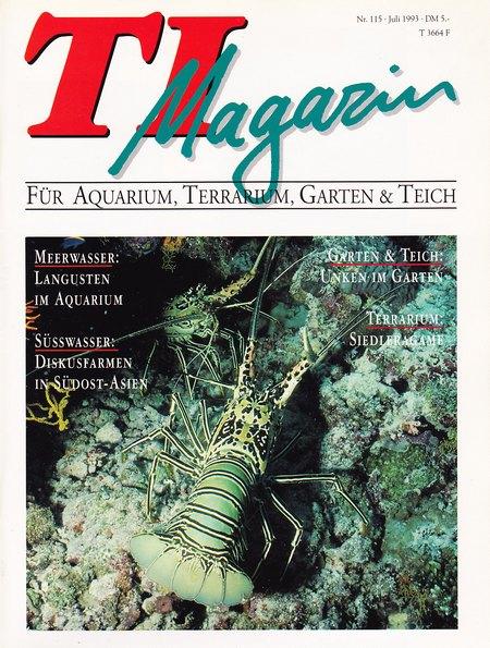 TI-Magazin/Aquaristik-Fachmagazin, Ausgabe 115