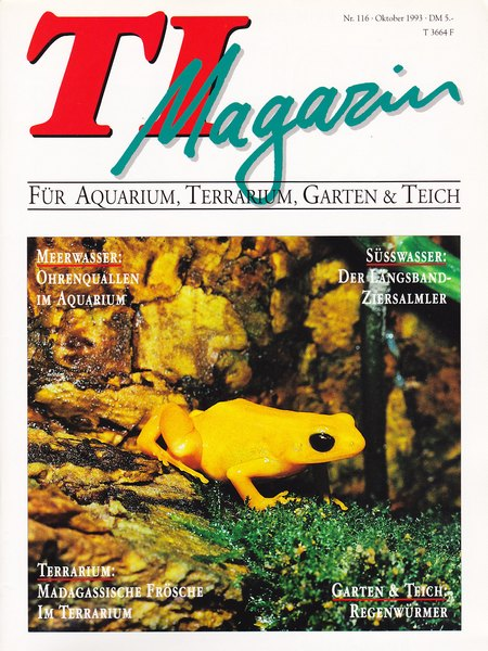TI-Magazin/Aquaristik-Fachmagazin, Ausgabe 116