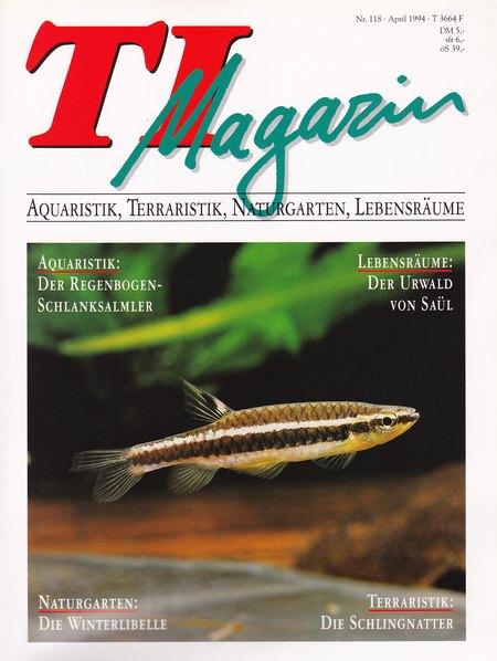 TI-Magazin/Aquaristik-Fachmagazin, Ausgabe 118