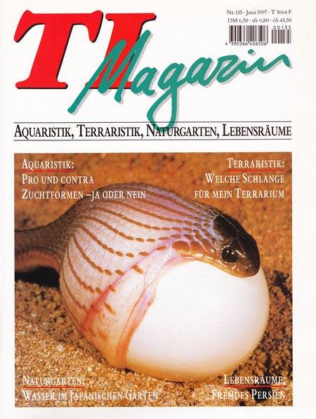 TI-Magazin/Aquaristik-Fachmagazin, Ausgabe 135
