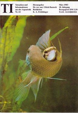 TI-Magazin/Aquaristik-Fachmagazin, Ausgabe 61