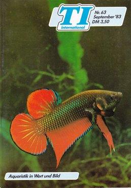TI-Magazin/Aquaristik-Fachmagazin, Ausgabe 63