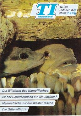 TI-Magazin/Aquaristik-Fachmagazin, Ausgabe 83