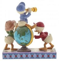 Tick Trick und Truck - Traditions Enesco Figurine